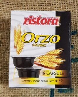 Capsula A Modo Mio Ristora Orzo Solubile 16 Pz