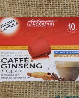 Capsula Nespresso Ristora Ginseng 10 Pz