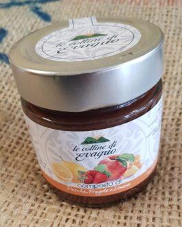 Marmellata Le Colline di Evagrio Pesche,Fragole,Limone 230g