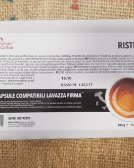 Capsula Vitha Group e Lavazza Firma Italian Coffee Ristretto 50-100 Pz