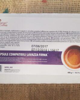 Capsula Vitha Group e Lavazza Firma Italian Coffee Dek 50-100 Pz