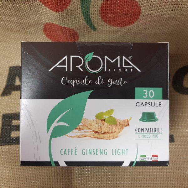a modo mio caffe ginseng light