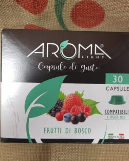 Capsula A Modo Mio Aroma Frutti di Bosco 30 Pz
