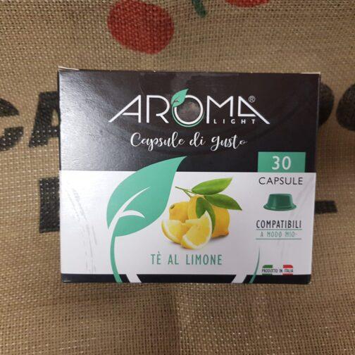 a modo mio aroma the al limone