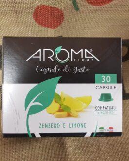 Capsula A Modo Mio Aroma Zenzero e Limone 30 Pz