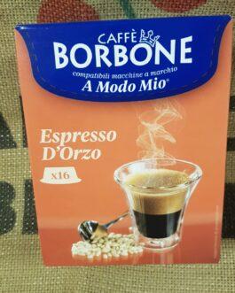 Capsula A Modo Mio Borbone Espresso d'Orzo 16 Pz