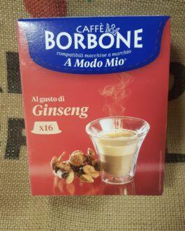 Capsula A Modo Mio Borbone Ginseng 16 Pz