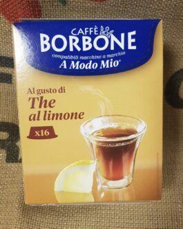 Capsula A Modo Mio Borbone The al Limone 16 Pz