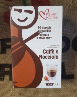 Capsula A Modo Mio Italian Coffee Caffè e Nocciola 16 Pz