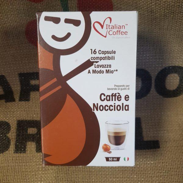 a modo mio italian coffee caffe e nocciola