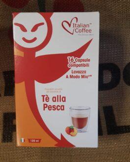 Capsula A Modo Mio Italian Coffee Tè alla Pesca 16 Pz