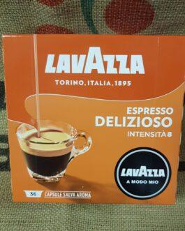 Capsula A Modo Mio Lavazza Espresso Delizioso 36 Pz