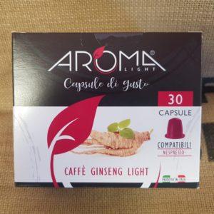 nespresso aroma caffe ginseng light