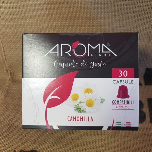 nespresso aroma camomilla