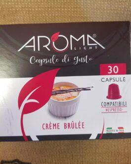 Capsula Nespresso Aroma Creme Brulee 30 PZ