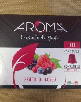 Capsula Nespresso Aroma Frutti di Bosco 30 Pz