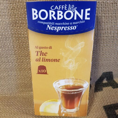 nespresso borbone the al limon