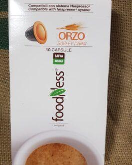 Capsula Nespresso Foodness Orzo 10 Pz