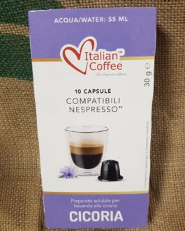 Capsula Nespresso Italian Coffee Cicoria 10 Pz