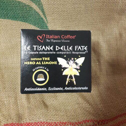nespresso italian coffee le tisane delle fate