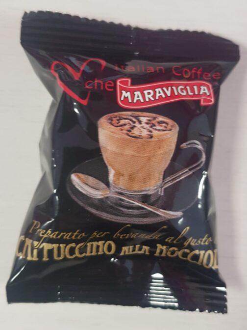 italian coffee cappuccino nocciola