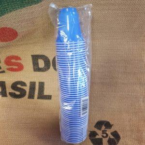 kit bicchieri blu 50 pz