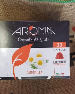 Capsula Dolce Gusto Aroma Camomilla 30 Pz