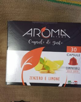 Capsula Dolce Gusto Aroma Zenzero e Limone 30 Pz