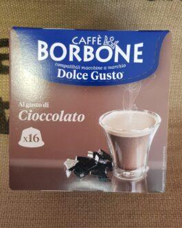 Capsula Dolce Gusto Borbone Cioccolato 16 Pz