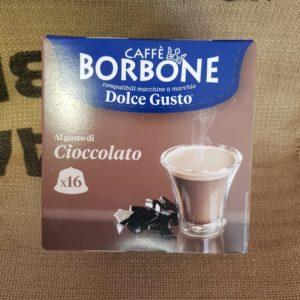 nescafè dolce gusto borbone cioccolato