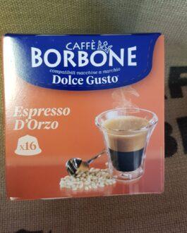 Capsula Dolce Gusto Borbone Espresso d'Orzo 16 Pz