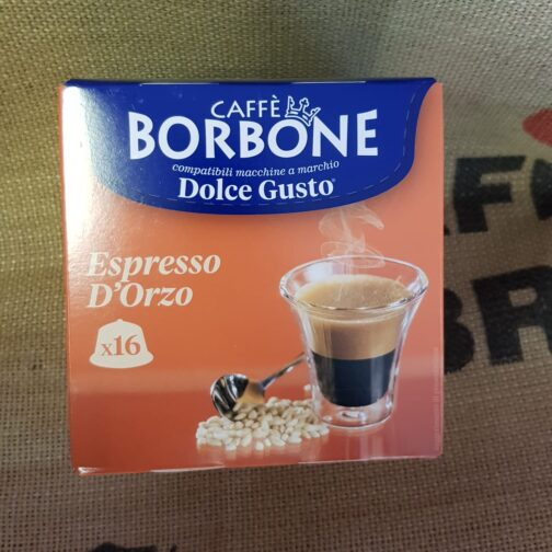 nescafè dolce gusto borbone espresso d orzo