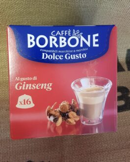 Capsula Dolce Gusto Borbone Ginseng 16 Pz