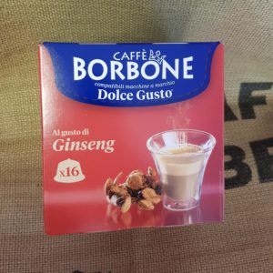 nescafe dolce gusto borbone ginseng