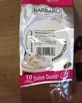 Capsula Dolce Gusto Caffè Barbaro Pistacchio e Caffè 10 Pz