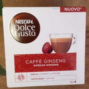 nescafe dolce gisto caffe ginseng