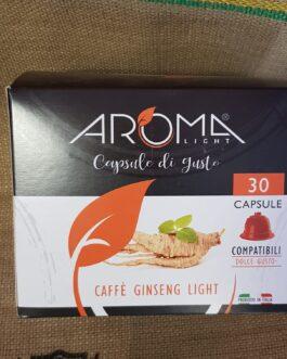 Capsula Dolce Gusto Aroma Caffè Ginseng Light 30 Pz