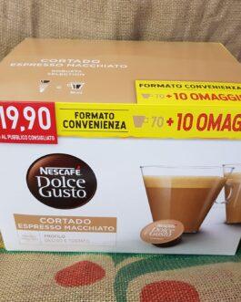 Capsula Nescafè Dolce Gusto Cortado Espresso Macchiato 80 Pz