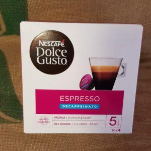 nescafè dolce gusto espresso decaffeinato