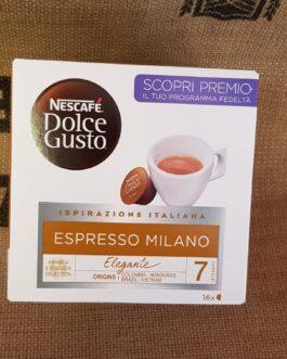 Capsula Nescafè Dolce Gusto Espresso Milano 16 Pz