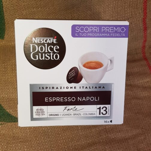 nescafe dolce gusto espresso napoli