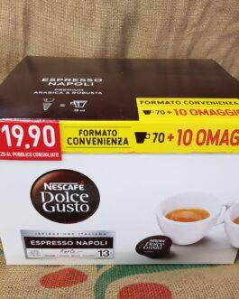 Capsula Nescafè Dolce Gusto Espresso Napoli 80 Pz