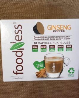 Capsula Dolce Gusto Foodness Caffè Ginseng 10 Pz