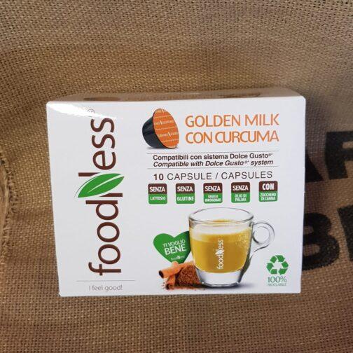 nescafe dolce gusto foodness golden milik con curcuma