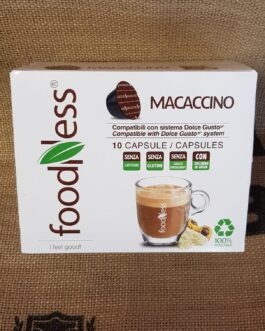 Capsula Dolce Gusto Foodness Macaccino 10 Pz