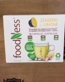 Capsula Dolce Gusto Foodness Zenzero e Limone 10 Pz
