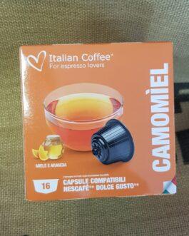 Capsula Dolce Gusto Italian Coffee Camomiel 16 Pz