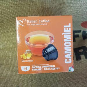 nescafè dolce gusto italian coffee camomiel
