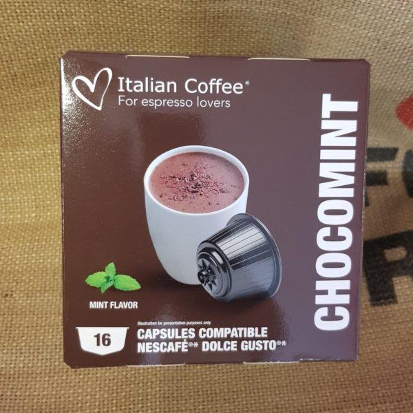 nescafe dolce gusto italian coffee chocomint