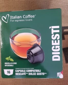 Capsula Dolce Gusto Italian Coffee Digesti 16 Pz